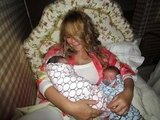 Mom Mariah Carey shared a glimpse of her newborn twins Monroe Cannon and Moroccan Cannon in the Fall of 2011.