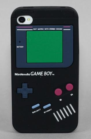 Yamamoto Industries Game Boy iPhone 4/4S Black Case ($17)