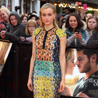 Taylor Schilling in Peter Pilotto The Lucky One Premiere