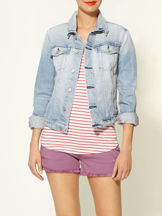 You can't go wrong with a classic denim jacket.  7 For All Mankind Denim Jacket ($265)