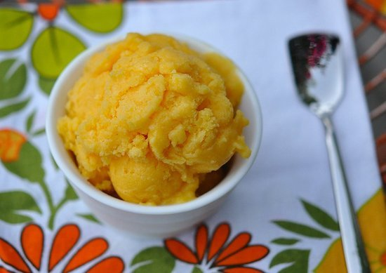 What to Make: Mango Sherbet