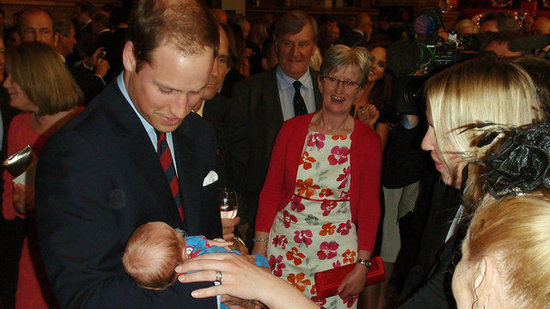 Video: William and Kate Cuddle Up to a Cute Baby