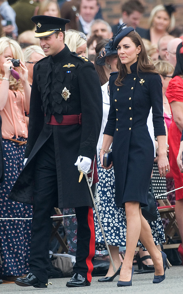 The Royal Couple at the Irish Guards Medal Parade