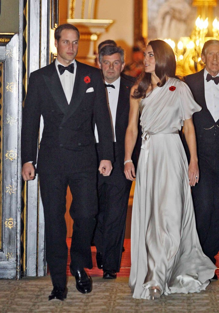 The couple hosted a charity dinner at St. James's Palace to raise money for the National Memorial Arboretum Appeal in November 2011.