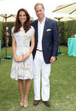 Kate and William looked ultradapper in Spring-perfect attire in Santa Barbara in July 2011.