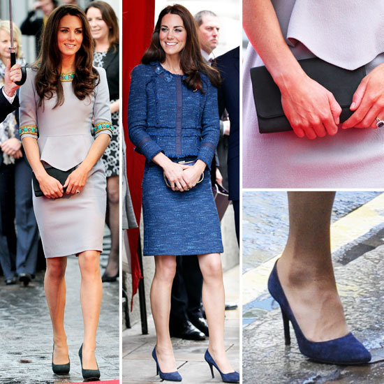 Kate Middleton Wearing Matthew Williamson and Rebecca Taylor