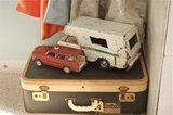 Vintage Suitcase and Toys