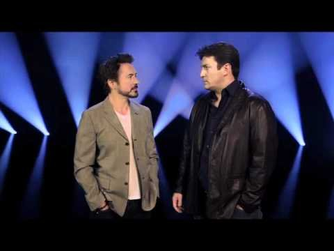 Marvel's The Avengers - Robert Downey, Jr. & Nathan Fillion