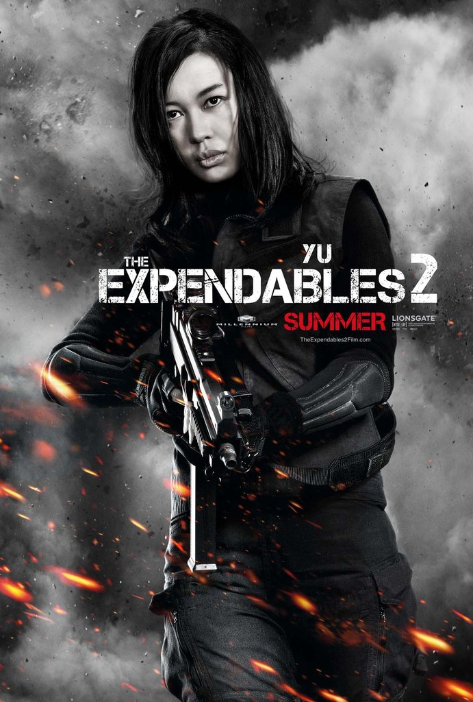 Nan Yu in The Expendables 2.