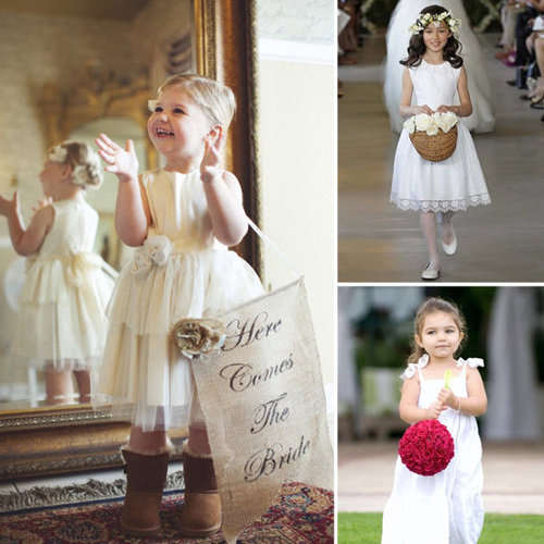 Check out the cutest flower girl props that Lil thinks will wow your crowd.