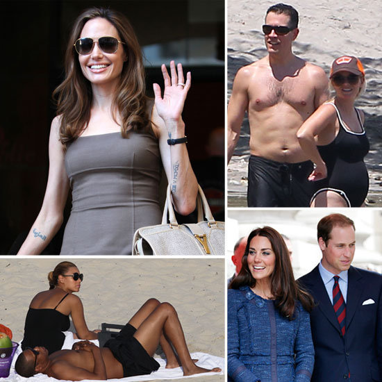 The Hottest April Headlines: Brad and Angelina Engaged, Kate and Will's Anniversary, Reese's Bump, and More!