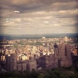 A view of Manhattan and the space shuttle Enterprise.  Source: Instagram User norma71