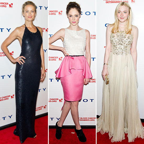 Celebrities at DKMS Linked Against Blood Cancer Gala 2012