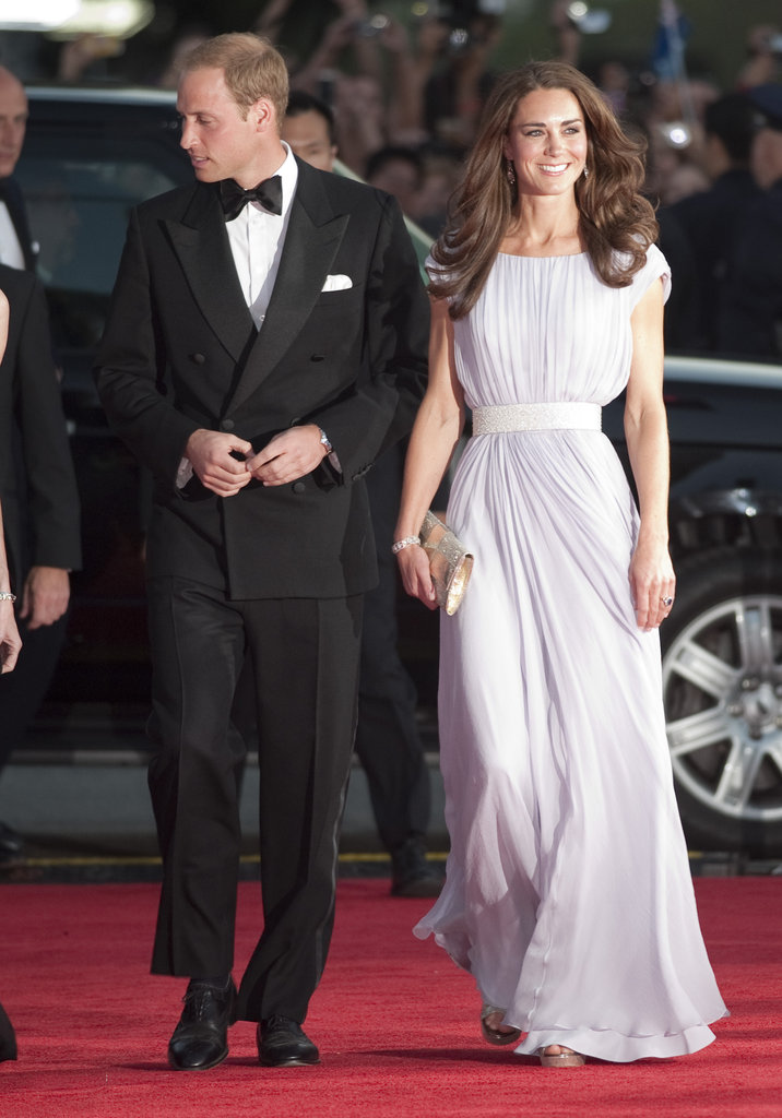 The stunning couple arrived at the BAFTA Brits to Watch awards in Los Angeles in July 2011 dressed to the nines.