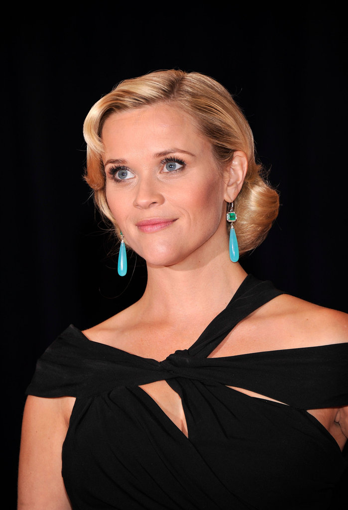 Reese Witherspoon glowed at the White House Correspondant's Dinner.