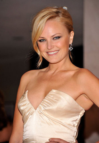 Malin Akerman wore a beautiful, floor length gown to the White House Correspondant's Dinner.