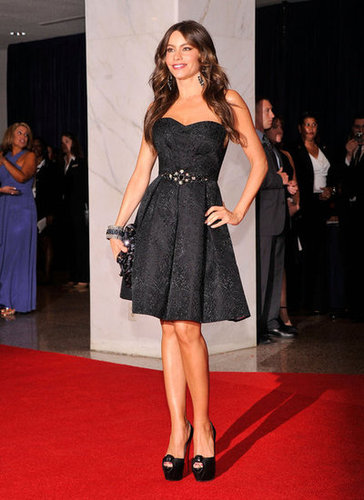 Sofia Vergara showed some leg in an LBD.