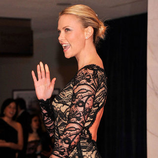 Charlize Theron White House Correspondents Dinner Red Carpet