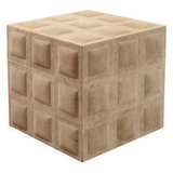 Looking a bit like a giant, suede Rubik's Cube, the Vintage Italian Cube Form Stool ($1,600) is from the 1980s and was made in Italy.