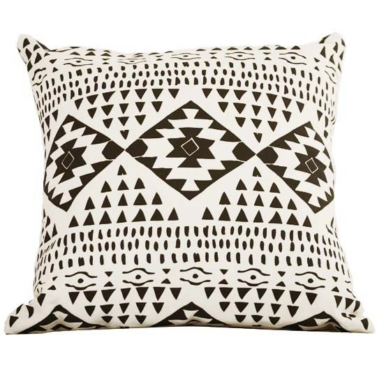 The Santa Fe Throw Pillow ($54) was handmade in Austin, TX, by illustrator and designer Leah Duncan.