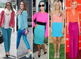 5 Fresh Springy Celeb Colorblocking Combos You Must Try Now!