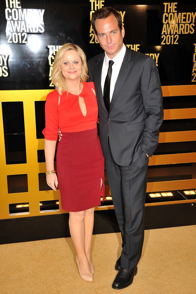 Amy Poehler and Will Arnett posed together at the Comedy Awards.