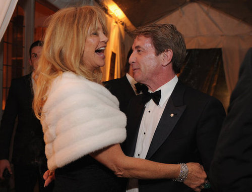 Goldie Hawn and Martin Short laughed it up at the White House Correspondant's Dinner.