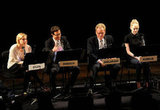 Greta Gerwig, Tom Cavanagh, James Woods, and Emma Stone linked up for a live read of The Apartment in NYC.