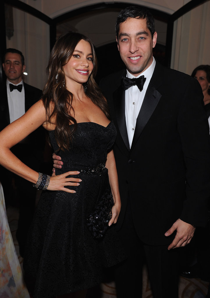 Sofia Vergara posed at the White House Correspondant's Dinner.