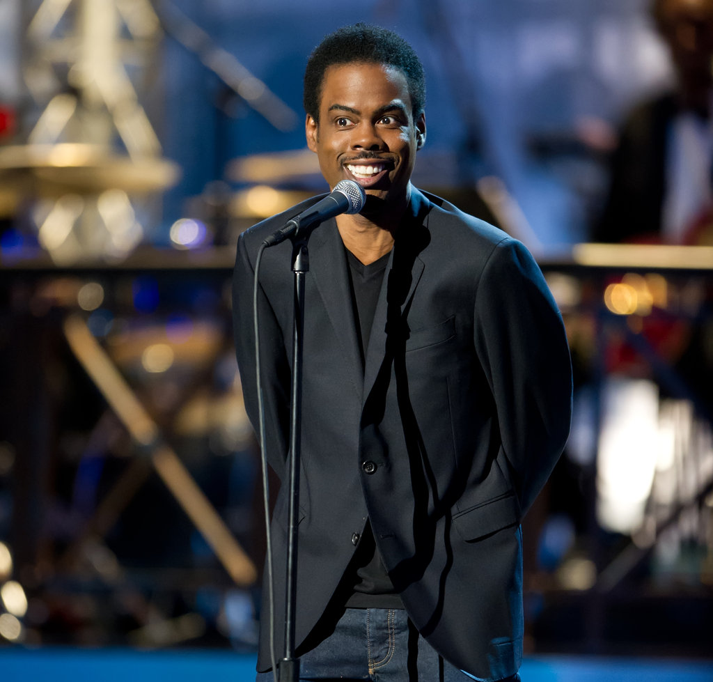 Chris Rock took the stage at the Comedy Awards in NYC.