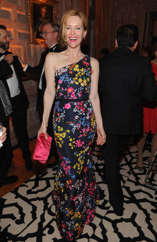 Leslie Mann was all smiles at the White House Correspondant's Dinner.