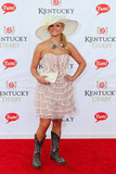 Miranda Lambert brought her cowboy boots to the Derby in 2011.