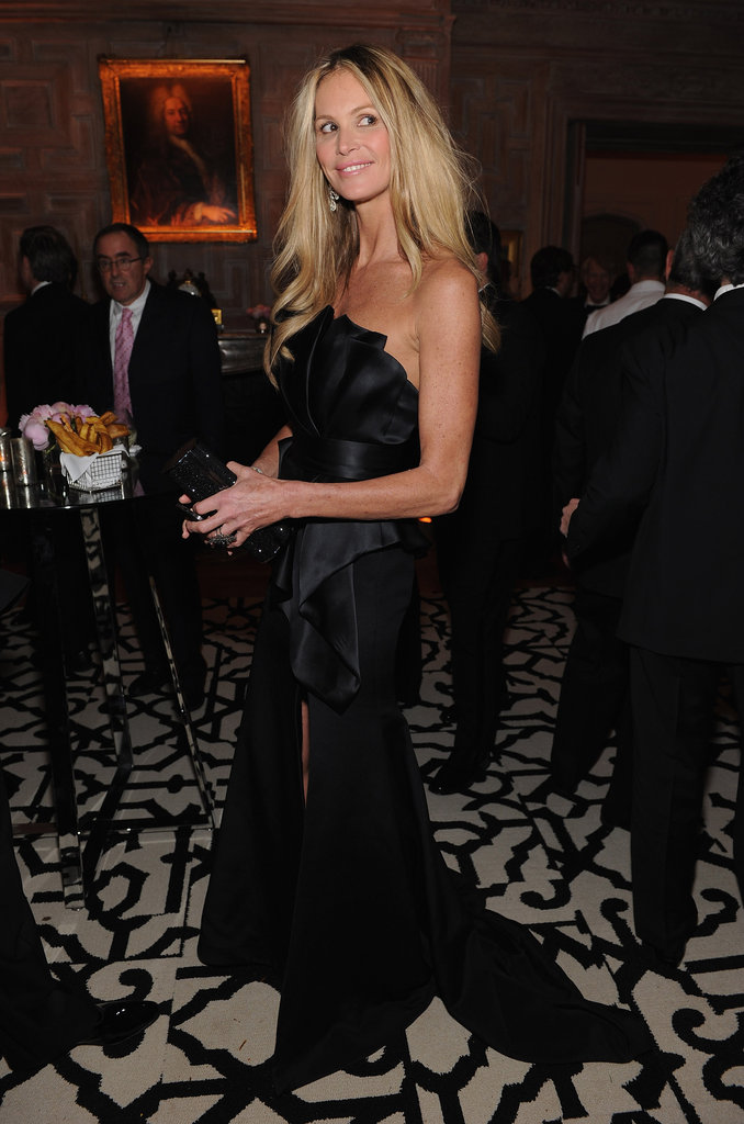 Elle Mcpherson showed off her blonde locks at the White House Correspondant's Dinner.