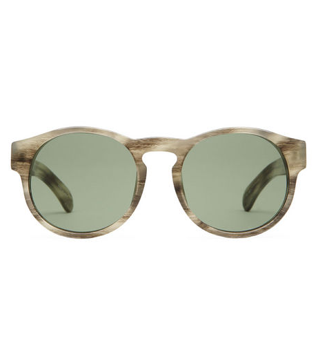 """I've got a thing for this season's clear acetate. These are just the right thing to perk up my wardrobe without trying too hard."" — Hannah Weil, assistant editor  Dries Van Noten by Linda Farrow Printed Sunglasses ($369)"