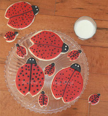Ladybug Sugar Cookies, For Mothers Day
