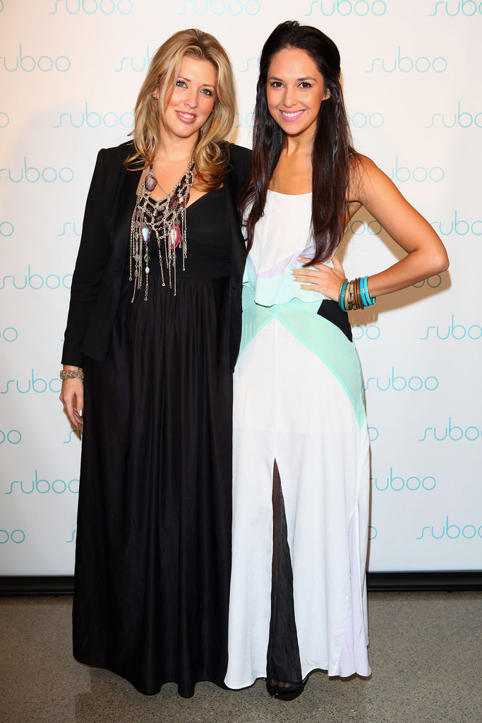 Nikki Goldstein and Zoe Balbi at Suboo