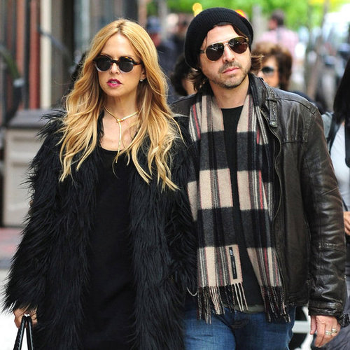 Rachel Zoe and Rodger Berman With Skyler in NYC Pictures