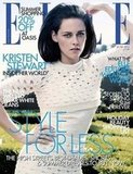 Kristen Stewart on the June 2012 cover of Elle UK.