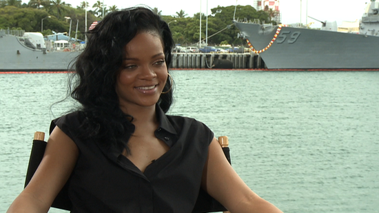 Rihanna Reveals Her Battleship Fears and Tells Us Why She Loves Being a Girl in a Guys' World