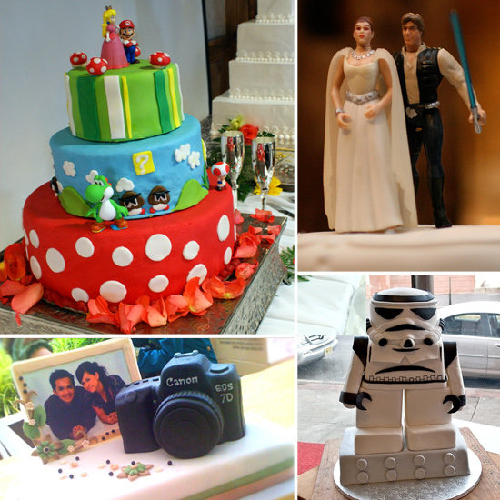 Geeky Wedding Cake Inspiration