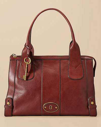 This '70s-inspired satchel is a timeless, sophisticated handbag that you can use for any occasion. Fossil Vintage Re-Issue Satchel ($238)