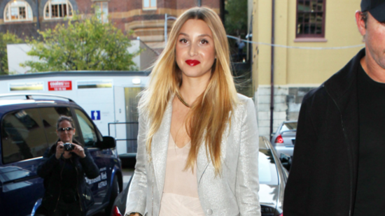 See How Whitney Port Effortlessly Mixes Neutral and Metallic Hues