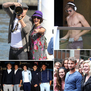 Celebrities in Australia in April 2012: One Direction, Zac Efron, Chace Crawford and More