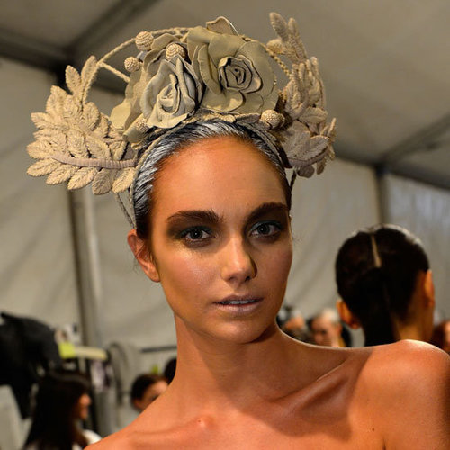 Aurelio Costarella Spring Summer 2012 2013 Backstage Beauty Report