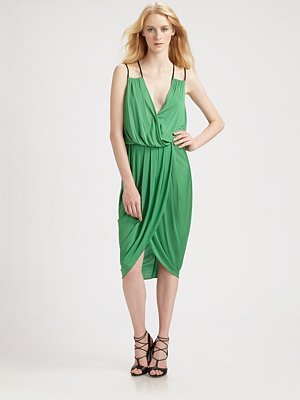 Under.ligne by Doo.ri Draped Wrap Dress ($495)