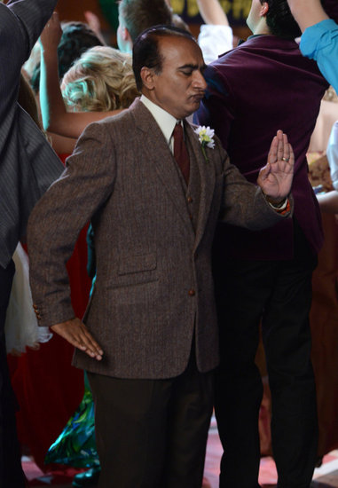 Iqbal Theba in Glee.  Photo courtesy of Fox