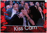 Russell Brand planted one on Jonah Hill for the MTV Movie Awards kiss cam.