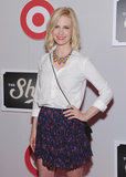 January Jones gave a smile at The Shops at Target launch party in NYC.