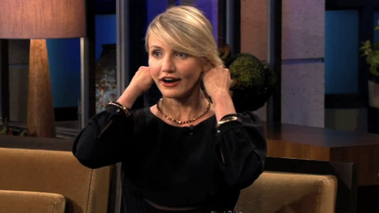 "Video: Cameron Diaz Talks Turning 40 and Her Haircut Disaster — ""I Burst Into Tears"""