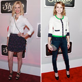 January Jones and Emma Roberts Help Launch Target's New Shops